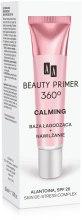 Парфюми, Парфюмерия, козметика Успокояваща основа за грим - AA Cosmetics Beauty Primer 360 Calming Allantoin Skin De-Stress Complex SPF 20