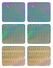 Парфюмерия и Козметика Декориращи лепенки за нокти, 3705 - Neess Patternness