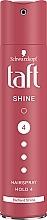 """Парфюмерия и Козметика Лак за коса """"Диамантен блясък"""" - Schwarzkopf Taft Shine Hair Lacquer"""