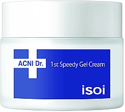 Парфюмерия и Козметика Гел-крем за лице - Isoi Acni Dr. 1st Speedy Gel Cream