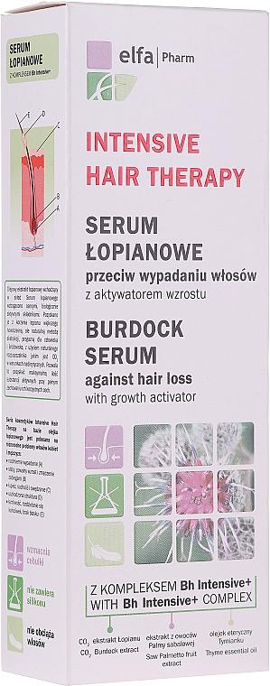 Серум против косопад с репей - Elfa Pharm Burdock Serum