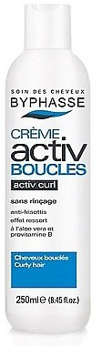 Крем за къдрава коса - Byphasse Activ Boucles Nourishing Curly Hair Cream