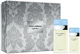 Парфюми, Парфюмерия, козметика Dolce & Gabbana Light Blue - Комплект парфюмна вода (edt/100ml + edt/25ml)