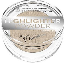 Парфюми, Парфюмерия, козметика Пудра за лице - Bell HYPOAllergenic Highlighter Powder by Marcelina