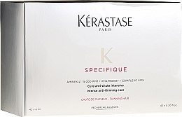 Парфюмерия и Козметика Ампули с аминокиселини против косопад - Kerastase Specifique Cure Aminexil