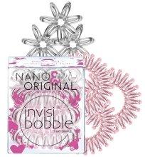 Парфюми, Парфюмерия, козметика Комплект ластици за коса 6бр - Invisibobble Nano & Original Bee Mine