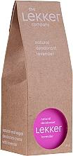 Парфюмерия и Козметика Натурален крем-дезодорант за тяло с аромат на лавандула - The Lekker Company Natural Lavender Deodorant
