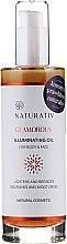 Парфюми, Парфюмерия, козметика Масло за тяло - Naturativ Glittering Body Oil