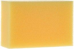 Парфюми, Парфюмерия, козметика Гъба за баня, правоъгълна, жълта - Cari