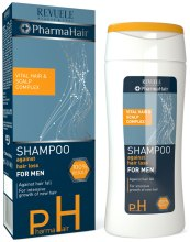 Парфюми, Парфюмерия, козметика Шампоан против косопад за мъже - Revuele Pharma Hair Shampoo