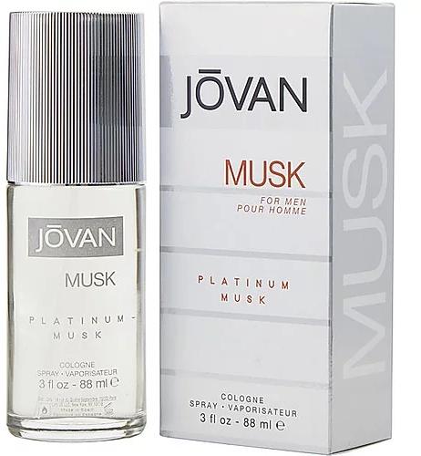 Jovan Platinum Musk For Men - Одеколон — снимка N1