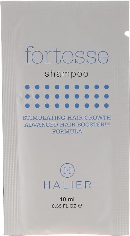 Шампоан против косопад - Halier Fortesse Shampoo Stimulating Hair Growth Advanced Hair Boosting (мостра) — снимка N1