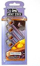 Парфюми, Парфюмерия, козметика Ароматизатор за кола - Yankee Candle Car Vent Stik Lemon Lavender