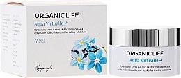 Парфюми, Парфюмерия, козметика Нощен крем за лице - Organic Life Dermocosmetics Aqua Virtualle Moisturising Night Cream