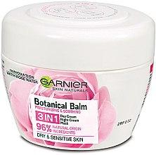 Парфюми, Парфюмерия, козметика Крем-маска за лице с розова вода - Garnier Skin Naturals Botanical Balm Rose 3in1