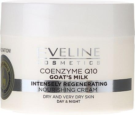 Подхранващ крем за суха - Eveline Cosmetics Goat's Milk Intensely Regenerating Cream — снимка N3