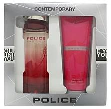 Парфюми, Парфюмерия, козметика Police Passion Woman - Комплект (edt/100ml + b/cr/125ml)