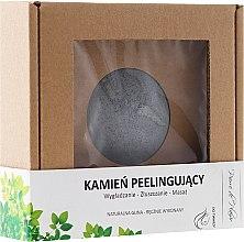 Парфюмерия и Козметика Натурален пилинг камък за лице, сив - Pierre de Plaisir Natural Scrubbing Stone Face