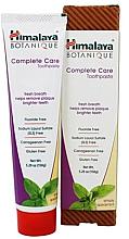 Парфюмерия и Козметика Паста за зъби за цялостна грижа за устната кухина - Himalaya Herbals Botanique Complete Care Toothpaste Simply Spearmint