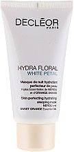 Парфюми, Парфюмерия, козметика Хидратираща маска за лице - Decleor Hydra Floral White Petal Skin Perfecting Hydrating Sleeping Mask