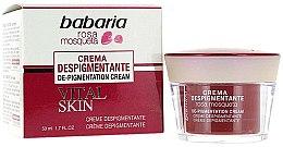 Парфюми, Парфюмерия, козметика Депигментиращ крем за лице - Babaria Fragrances Depigmentation Cream Vital Skin