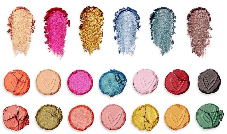 Палитра сенки за очи - Makeup Revolution X Carmi Make Magic Eyeshadow Palette — снимка N4