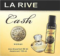 Парфюмерия и Козметика La Rive Cash Woman - Комплект (парф. вода/90ml + дезодорант/150ml)