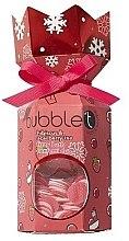 Парфюми, Парфюмерия, козметика Комплект за вана с аромат на хибскус и асаи - Bubble T Bath Fizzer Hibiscus & Acai Berry (бомбичка/100g+конфети/25g)