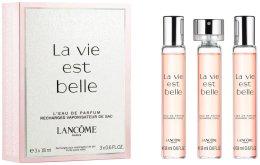 Парфюми, Парфюмерия, козметика Lancome La Vie Est Belle - Комплект (refill/3x18ml)
