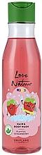 Парфюмерия и Козметика Детски душ гел-шампоан 2 в 1 - Oriflame Love Nature Kids Playful Strawberry Hair Body Wash
