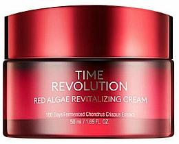 Парфюмерия и Козметика Ревитализиращ крем за лице с екстракт от червени водорасли - Missha Time Revolution Red Algae Revitalizing Cream