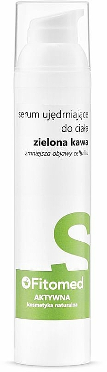 "Укрепващ серум за тяло ""Зелено кафе"" - Fitomed Green Coffee Firming Body Serum — снимка N1"
