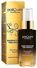 Парфюмерия и Козметика Хидратиращо масло за лице - Postquam Radiance Elixir Pure Argan Facial Oil Nourishing Facial Oil