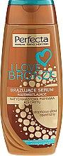 Парфюмерия и Козметика Бронзиращ серум за тяло - Perfecta I Love Bronze Serum