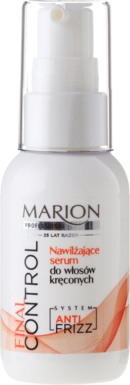 Хидратиращ серум за къдрава коса - Marion Professional Final Control