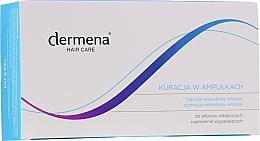 Парфюмерия и Козметика Ампули против косопад за жени - Dermena Hair Care Ampoules Against Hair Loss