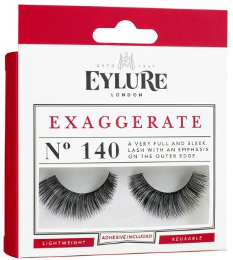 Изкуствени мигли №140 - Eylure Pre-Glued Exaggerate — снимка N2