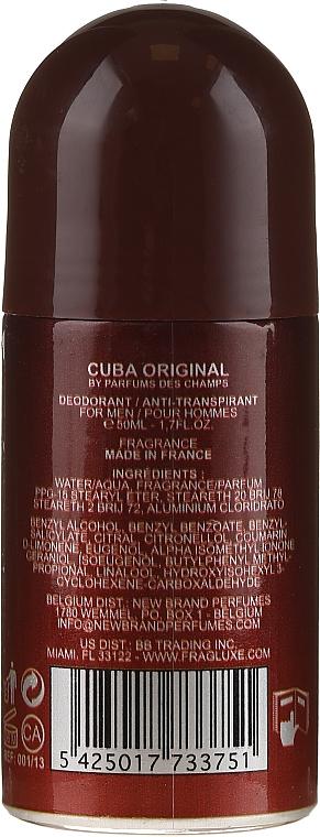 Cuba Green Deodorant - Рол-он дезодорант  — снимка N2