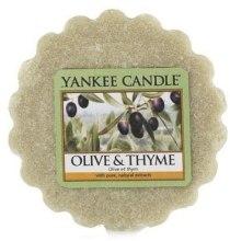 Парфюми, Парфюмерия, козметика Ароматен восък - Yankee Candle Olive & Thyme Wax Melts
