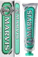 Парфюми, Парфюмерия, козметика Паста за зъби с ксилитол - Marvis Classic Strong Mint + Xylitol