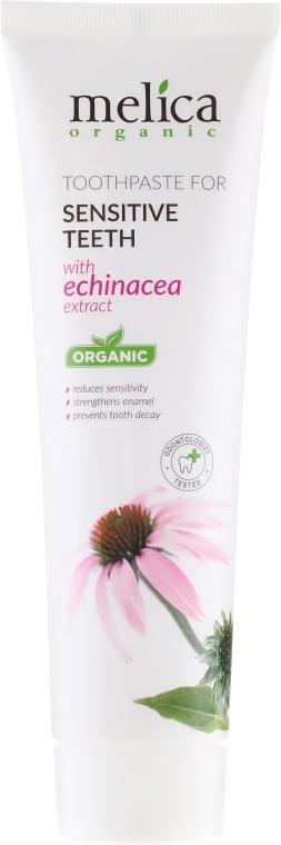 Паста за зъби с екстракт от ехинацея - Melica Organic — снимка N2