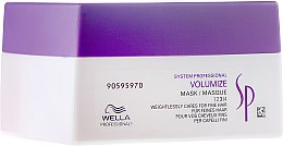 Парфюмерия и Козметика Маска за придаване на обем - Wella Professionals Wella SP Volumize Mask