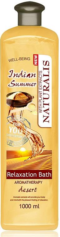 Маслена пяна за баня - Naturalis Indian Summer Relaxation Bath