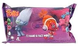 Парфюми, Парфюмерия, козметика Мокри кърпички, 72 бр. - Corsair Trolls Hand & Face Wipes
