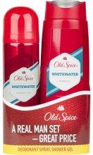 Парфюми, Парфюмерия, козметика Комплект - Old Spice Whitewater (deo/125ml + sh/gel/250ml)