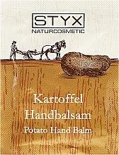Парфюми, Парфюмерия, козметика Балсам за ръце с картоф - Styx Potato Hand Balm (мостра)