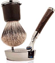 Парфюмерия и Козметика Комплект - Acqua di Parma Colonia Collezione Barbiere (shaving/brush + razor)