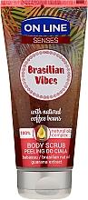 Парфюмерия и Козметика Скраб за тяло - On Line Senses Body Scrub Brasilian Vibes