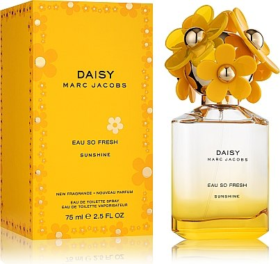 Marc Jacobs Daisy Eau So Fresh Sunshine 2019 - Тоалетна вода — снимка N2
