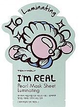Парфюми, Парфюмерия, козметика Памучна маска за лице - Tony Moly I'm Real Peral Luminating Sheet Mask